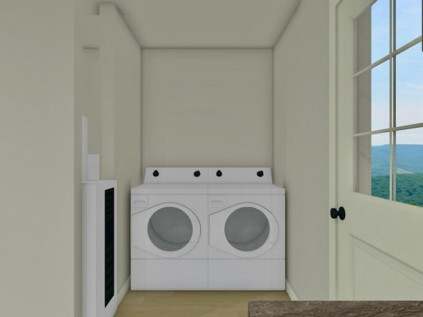 Laundry without Doors